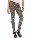 Jeans, Skinny Ankle-Length Floral-Print