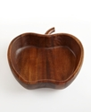 Serveware, Acacia Wood Apple Bowl