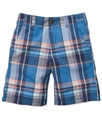 Kids Shorts, Little Boys Plaid Twill Shorts