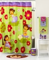 Bath Accessories, Dora Picnic Shower Curtain