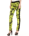 MICHAEL Michael Kors Pants, Skinny Floral-Print Tu