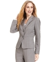 Jacket, Seamed Notched Collar