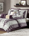 Zoe 12 Piece Queen Comforter Set Bedding