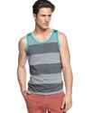 Shirt, Cherokee Stripe Tank Top