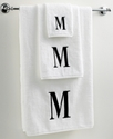 Avanti Bath Towels, Black and White 12   x 18   Fi