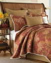 , Orange Cay Full/Queen Quilt Bedding