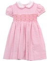 Girls Dress, Little Girl Smocked Dress