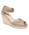 Shoes, Vee Espadrille Platform Wedge Sandals Women