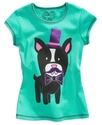 Kids T-Shirts, Girls Mustache Tees