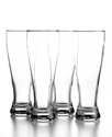 Glassware, Set of 4 Large Beer Glasses