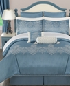 Geneva 24 Piece California King Comforter Set Bedd