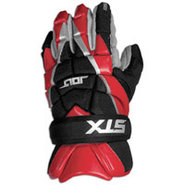 Jolt Lacrosse Gloves - Mens - Red