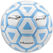 Phantom Soccer Ball - White/Carolina