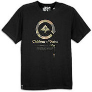 Lifted Camo Kids S/S T-Shirt - Mens - Black