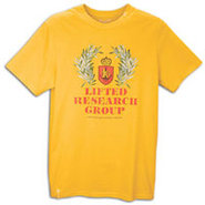 Chester LRG Shield S/S T-Shirt - Mens - Gold