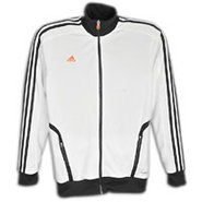 Predator Style Track Jacket - Mens - White/Warning