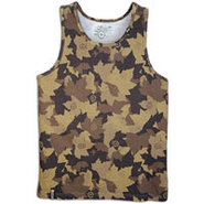 Children of Vision Camo Tank - Mens - Brown