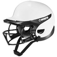 Liberty Batting Helmet/Mask Combo - Womens - White