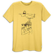 Pelly Bird Watcher S/S T-Shirt - Mens - Wheat