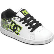 Character - Boys Grade School - White/Soft Lime