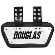 4  Back Plate - Mens - White/Black
