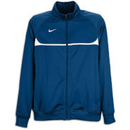 Rio II Full Zip L/S Warm-Up Jacket - Mens - Navy/W