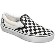 Classic Slip On - Mens - Black/White
