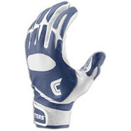 Pro Batting Gloves - Mens - Navy/White