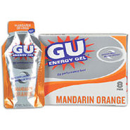 GU Energy Gel 8 Pack - Mandarin Orange