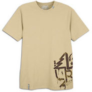 Stencil Tech S/S T-Shirt - Mens - British Khaki