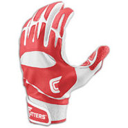 Pro Batting Gloves - Mens - Red/White