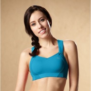 Juno High-Impact Sports Bra - Womens - Blizzard