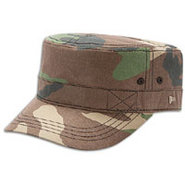 EK Delux Military Cap - Mens - Woodland