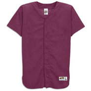 Mesh Full Button Baseball Jersey - Mens - Cardinal