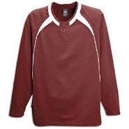 Escape L/S Fleece - Mens - Maroon