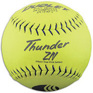 USSSA Composite Slowpitch Softballs - Yellow