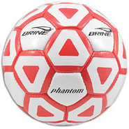 Phantom Soccer Ball - White/Scarlet
