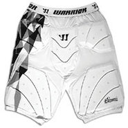 Lockdown Lacrosse Goalie Leg Pads - Mens - White