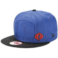 Over Face 9fifty Snapback Cap - Mens - Blue/Black/