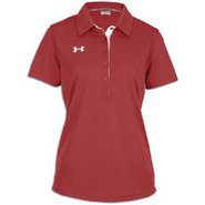 Coaches Polo II - Womens - Maroon/White