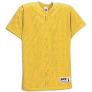 Two-Button Mesh Baseball Jersey - Boys Grade Schoo