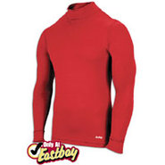 EVAPOR Compression Mock - Mens - Scarlet
