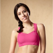 Juno High-Impact Sports Bra - Womens - Flamingo