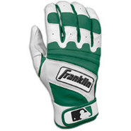 Natural II Batting Gloves - Mens - Pearl/Forest Gr