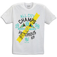 Roc Champs S/S T-Shirt - Mens - White