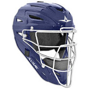 System 7 MVP Catchers Head Gear - Navy