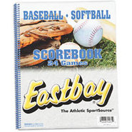 Baseball/Softball Game Scorebook