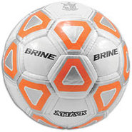 Attack Soccer Ball - White/Orange
