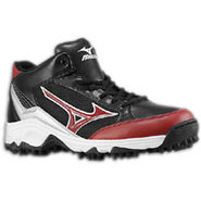 9-Spike Blast 3 Mid - Mens - Black/Maroon