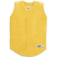 Sleeveless Mesh Jersey - Mens - Gold